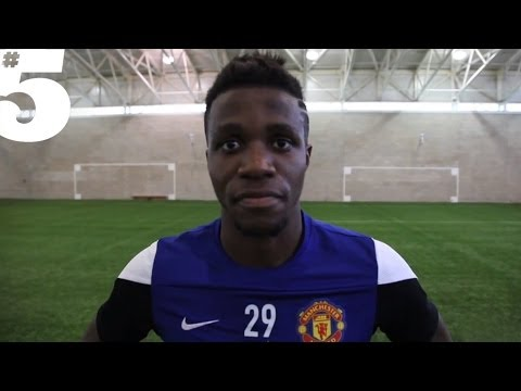 Wilfried Zaha Freestyle Skills and Tricks | #5 Players Lounge