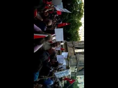 Turkish protesters in Paris for Gezi Park! #DirenGeziParki