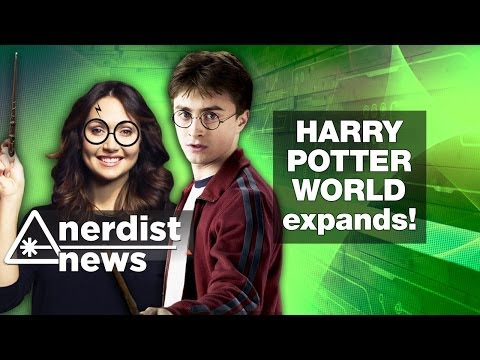 HARRY POTTER'S WORLD Expands + Diamond Dallas Page: Nerdist News w/ Jessica Chobot