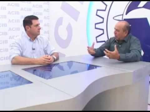 TV Acib - Cyro Pena Júnior  Presid. Sindicato Rural do Vale do Rio Grande.
