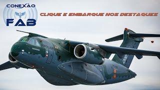 Nesta edição, o Conexão FAB traz como destaque uma matéria sobre a fase de testes do KC-390, o novo avião cargueiro da Força Aérea Brasileira (FAB). Destacamos, também, o importante trabalho realizado pelo Quarto Centro Integrado de Defesa Aérea e Controle de Tráfego Aéreo (CINDACTA IV) na região amazônica. Nossa equipe foi, ainda, ao Rio de Janeiro mostrar como o Museu Aeroespacial (MUSAL) desperta o interesse de crianças e adolescentes pela aviação.