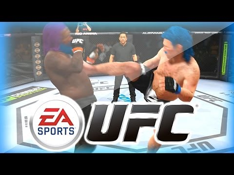 EA SPORTS UFC Funny Moments w/ Mini Ladd - Punchfast McChunky vs Fockboy McGee!