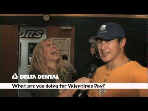 Nashville Predators Player Bites- Valentine's Day