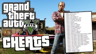 GTA 5 Cheats List Super Jump, Fast Run, Flaming Bullets