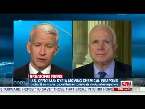 Senator John McCain takes on Putin