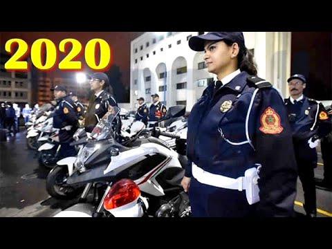 شرطة تطوان ليلة رأس السنة الميلادية 2020 (فيديو)