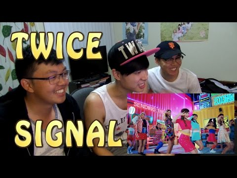 youtube video TWICE(트와이스) - SIGNAL MV Reaction [TINGLING TINGLING!] to 3GP conversion