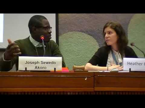 Part 2: UN HRC SOGI Side Event, March 2014
