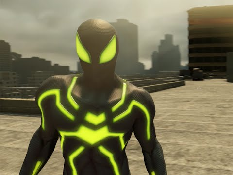 THE AMAZING SPIDER-MAN 2 VIDEOGAME - BIG TIME SPIDER-MAN COSTUME SHOWCASE