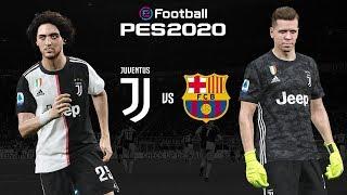 Juventus v Barcelona  🎮? | PES 2020 Friendly⚽?| ESPORTS