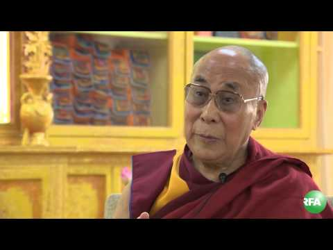 RFA Exclusive interview with His Holiness Dalai Lama Tuesday,July 15,2014.