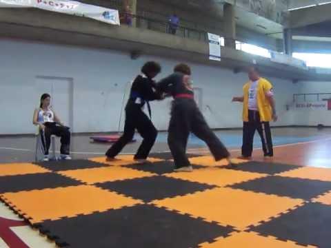 Luta de Solo Jepherson II - Academia Arena Hap-Ki-Do