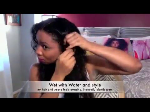 SILICON MIX AND KANECHOM ON NATURAL HAIR :BEFORE A
