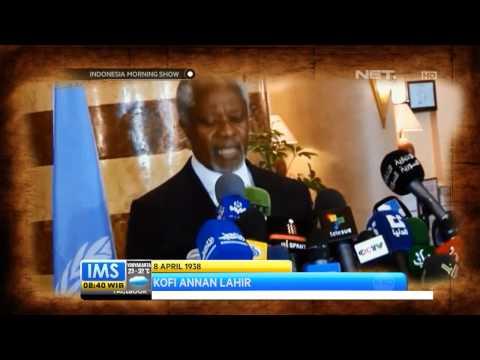 IMS - Today's History Kofi Annan lahir