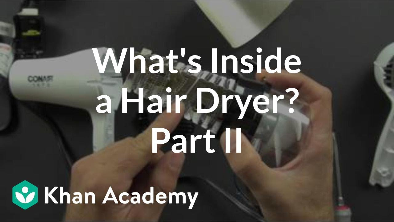 Hair Dryer Inside ~ What is inside a hair dryer of youtube