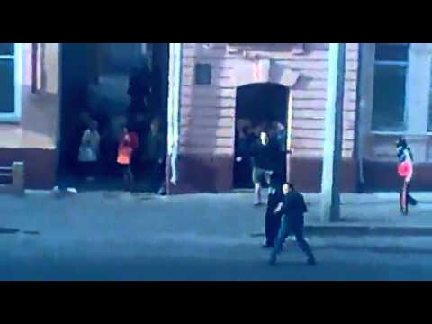 Ultras vs Vatniki. Харьков, улица Плехановская