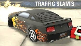 Juego De Autos 11: Un Auto Hot Wheels En Traffic Slam 3