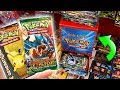 I FOUND OLD POKEMON CARDS PACKS AT TARGET Opening RARE Pokemon Packs From The Store