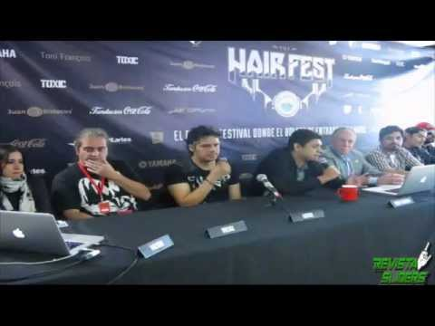 HAIR FEST Rueda de Prensa por REVISTA SLIDERS