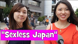 """Japanese React to """"Sexless Japan"""" (Interview)"""
