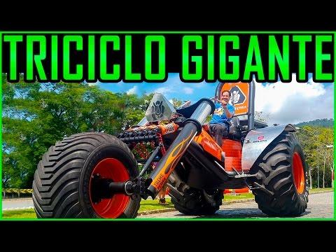Triciclo Gigante e meu Carnaval Aventura TremeTerra