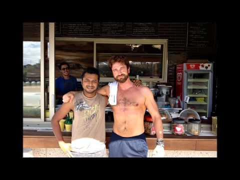 Gerard Butler in Sydney