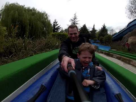 Raft Racing - Legoland - First Ride