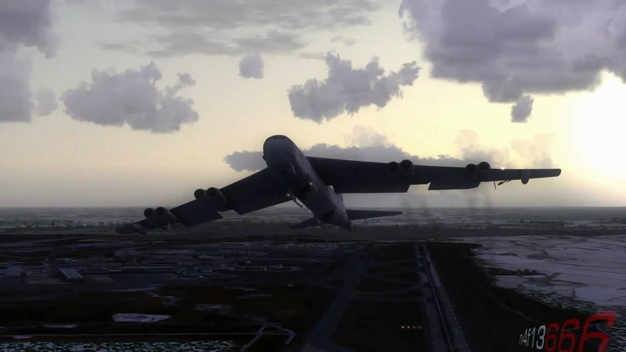 fsx hd captain sim boeing b 52 stratofortress   youtube