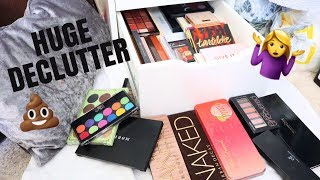 EYESHADOW PALETTE COLLECTION + DECLUTTER | MAUMINA