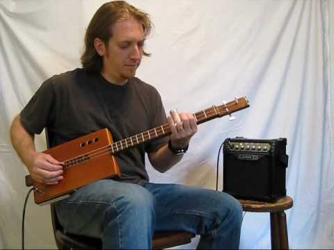 "Mike Snowden ""Porch Song"" from the CD ""Summer in the Fields - Cigar Box Guitar Instrumentals"""