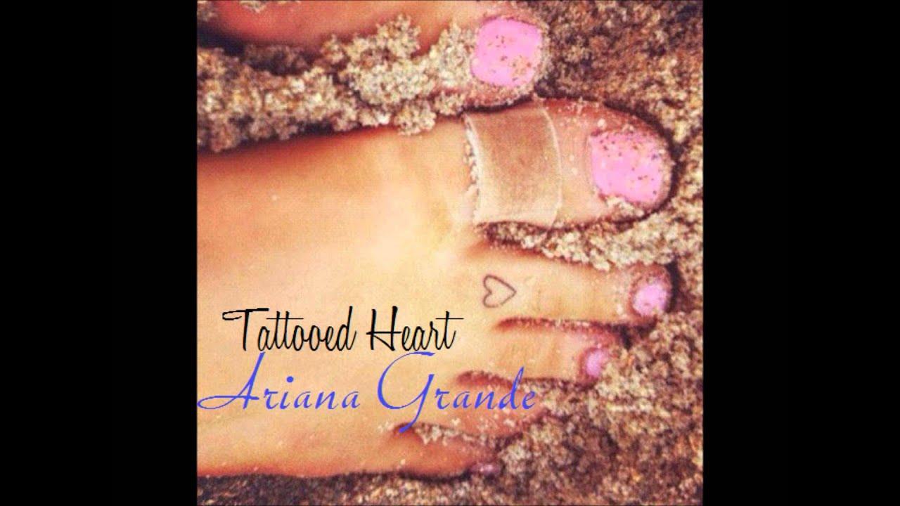 Tattooed heart ariana grande youtube for Tattooed heart ariana grande