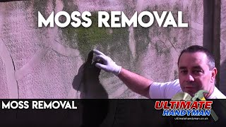 How to remove Moss