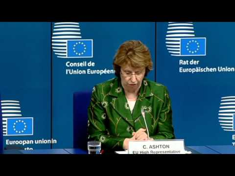 Foreign Affairs Council - Press conference by Catherine ASHTON