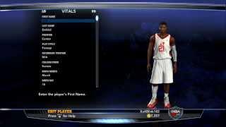 How To Create Joel Embiid On NBA 2K14