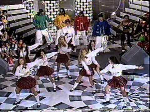 Paquitas New Generation dançando - Xuxa Hits 23/11/1996