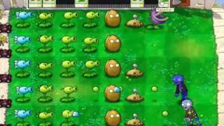 Plantas Vs Zombies(nivel 1-10) Gameplay