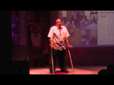 Polio has not been Eradicated : Ramakrishnan.H at TEDxCoimbatore