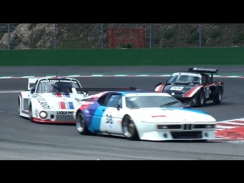Amazing BMW M1 & Porsche 935 Ferrari 712 at the Spa Classic - CER Classic Endurance Racing