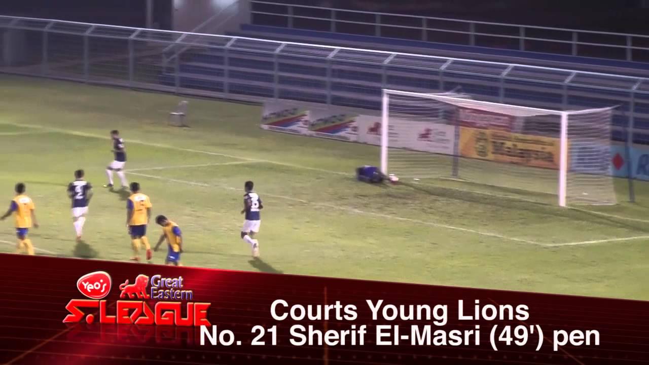 Harimau Muda B 2-3 Young Lions