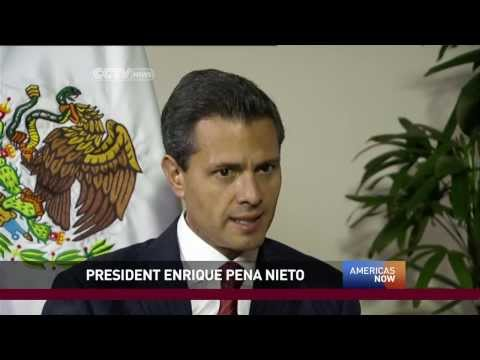 """Americas Now"" Sits Down with Mexico's President"