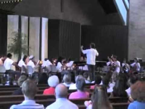 Summertime performed by the Premier Orchestrial Institute  Alto Sax Soloist  William Walker
