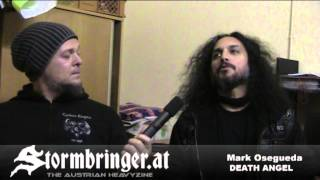 DEATH ANGEL Mark Osegueda Interview