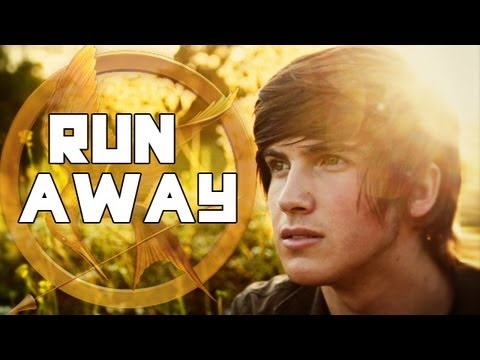 "HUNGER GAMES MUSIC VIDEO! ""Run Away"" - The Tributes!, Purchase our Full Hunger Games Album for $6! http://bit.ly/GI2LKO Purchase this song on iTunes: http://bit.ly/JL5J1g FACEBOOK THIS VIDEO! http://on.fb.me/LRd..."