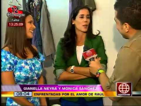Mónica Sánchez y Gianella Neyra hablaron sobre el divertido spot de 'Dos lomazos, un platanazo'