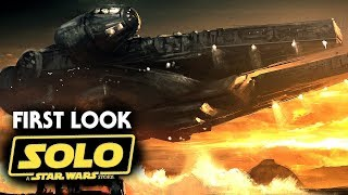 Han Solo Star Wars Movie - First Look At Han Solo! (Solo A Star Wars Story)