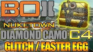 "BO2 ""Diamond Camo C4 Glitch / Easter Egg On Nuketown"