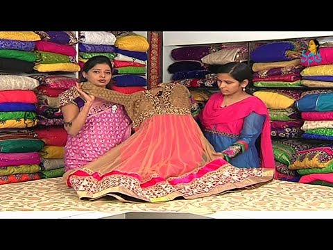 Heavy Work Dresses and Half Sarees