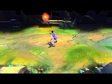 Trang Phục Lee Sin Quyền Long - Dragon Fist Lee Sin Chroma Pack