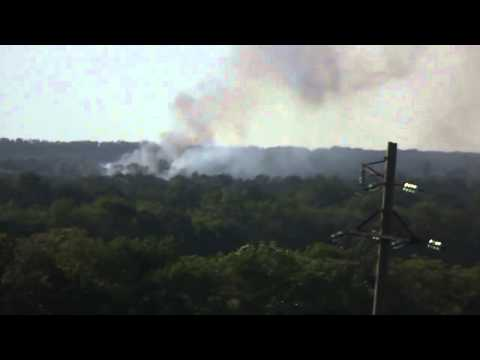16 Ukrainian soldiers killed by Serpatists. Footage of helicopter attacking. checkpoints!