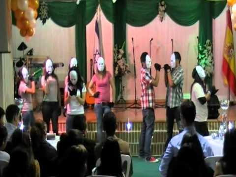obra de teatro las mascaras en la iglesia redimidos de dios zona joven